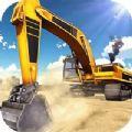 挖掘机模拟器爆破建造城市模拟