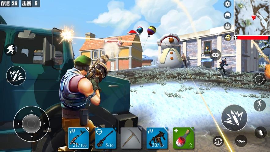 吃鸡战场迷你像素世界射击游戏官方版图片4