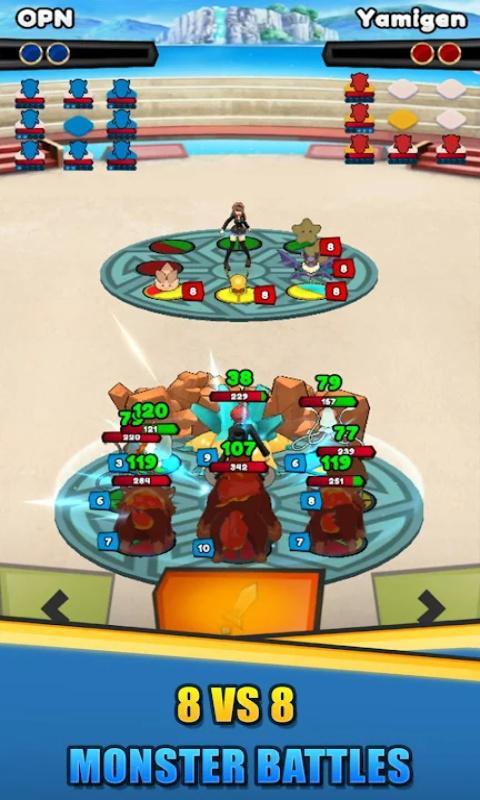 脂鲤兽决斗大师游戏图3