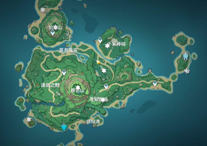 原神鹤观岛石板在哪?鹤观岛石板位置汇总[多图]图片1