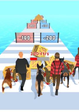 遛狗者3D游戏图2