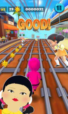 鱿鱼游戏超级跑酷游戏图3