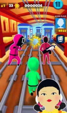 鱿鱼游戏超级跑酷游戏手机版图片1