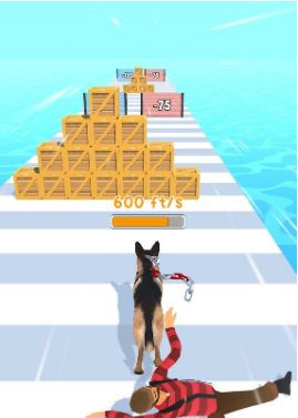 遛狗者3D游戏图1