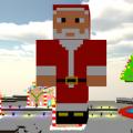工艺圣诞像素老人
