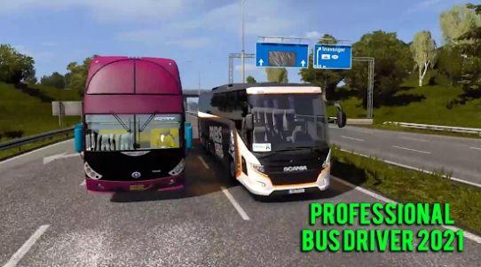 专业巴士司机2021游戏图2
