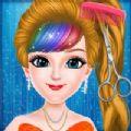 可爱的女孩超级美发沙龙