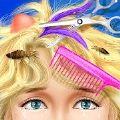 公主头发沙龙化妆