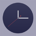 桌面时钟滚动翻页app