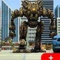 多车机器人变形