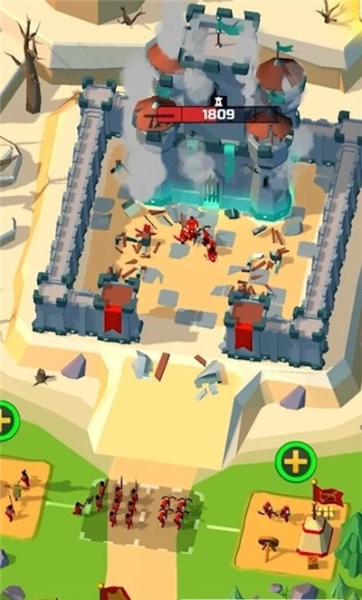 空闲战争营地游戏安卓版图片1