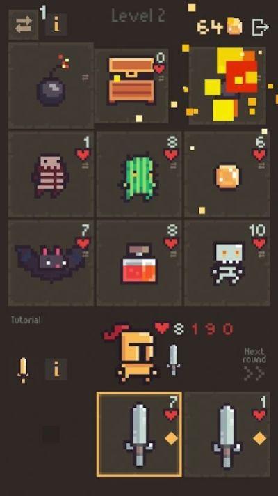 卡牌阵亡游戏图1
