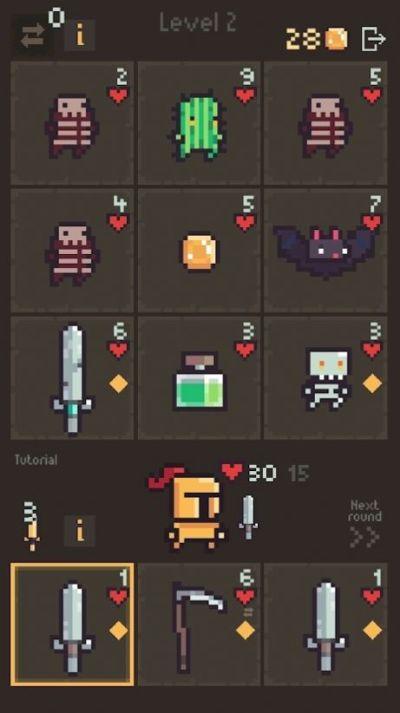 卡牌阵亡游戏图6