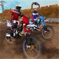 越野赛道摩托比赛