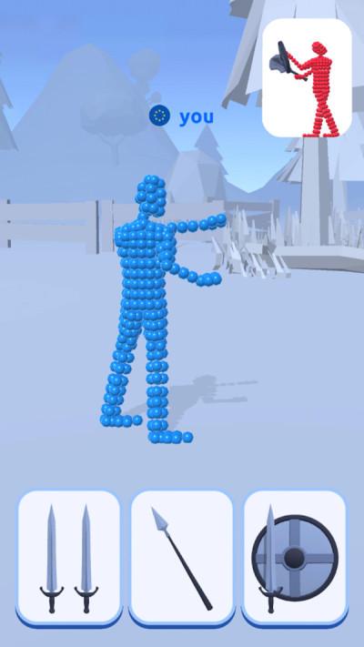 像素人类战斗游戏图1