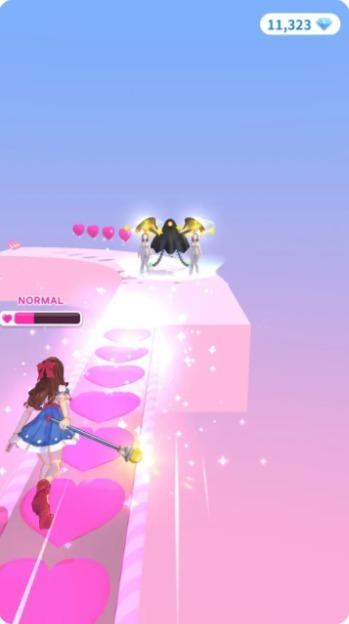 魔法少女跑酷游戏图1