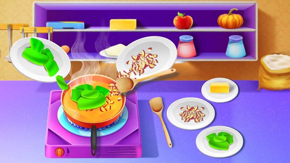 烹饪美食馅饼游戏图2