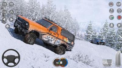 大型雪地卡车游戏图2